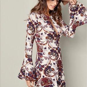 Venus paisley boho dress